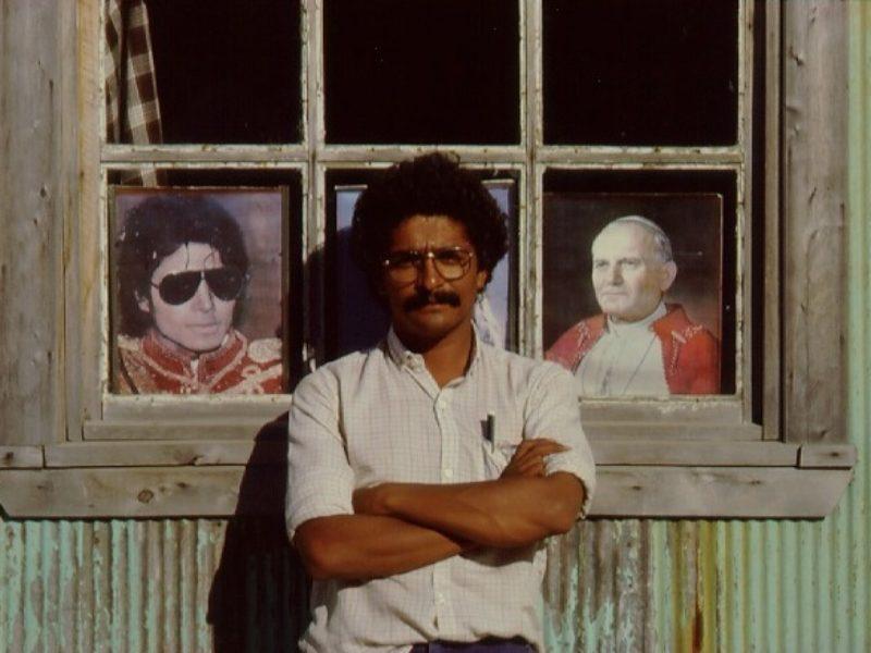 Edward Rojas en Achao, 1978