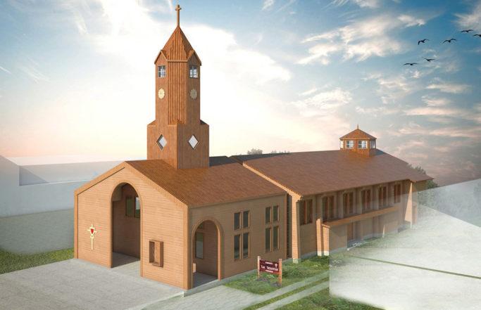 Iglesia Purranque | Chiloé, Chile