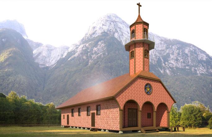Iglesia de Vodudahue | Chiloé, Chile