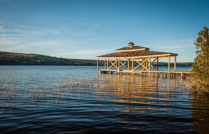 Parque El Mañío | Lago Natri, Chiloé