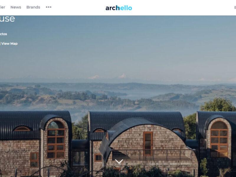 Abovedada house en Archello